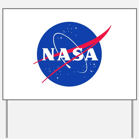 NASA Yard Sign
