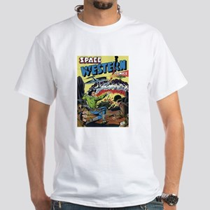 $19.99 Space Western 2 White T-Shirt