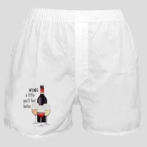 Wine a little Boxer Shorts