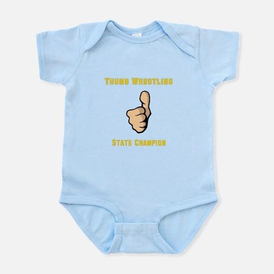 Thumb Wrestling Infant Bodysuit