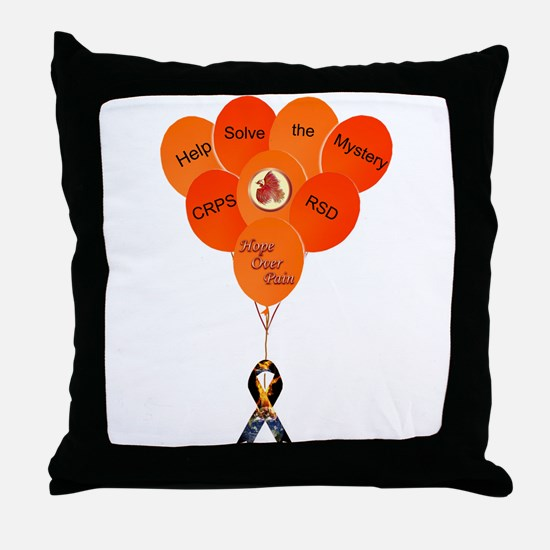 Help Solve the Mystery CRPS Throw Pillow