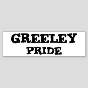 Greeley Pride Bumper Sticker