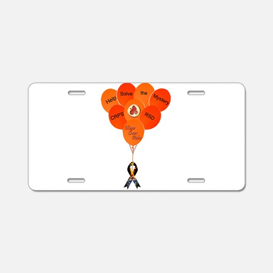 Help Solve the Mystery CRPS Aluminum License Plate