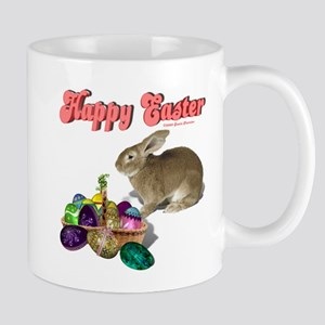 "Happy Easter ""Real Bunny & Ba Mug"