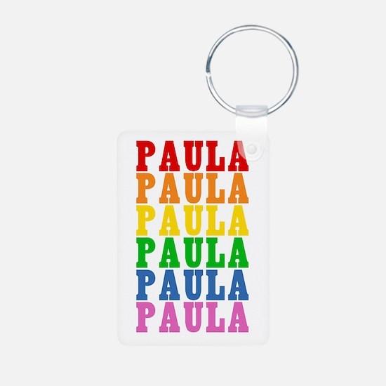 Rainbow Name Keychains
