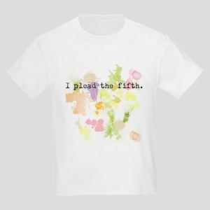 I Plead the Fifth Kids Light T-Shirt