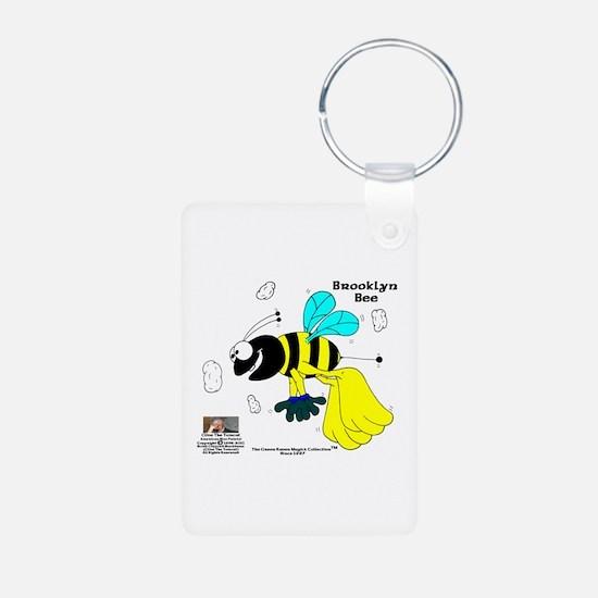 Brooklyn Bee Aluminum Photo Keychain