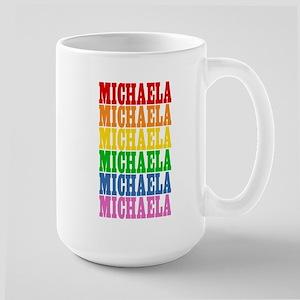 Rainbow Name Large Mug