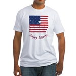 Enjoy Liberty Fitted T-Shirt