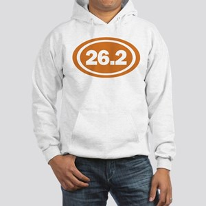 26.2 Burnt Orange True Hooded Sweatshirt