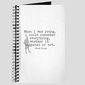 Remembering Journal