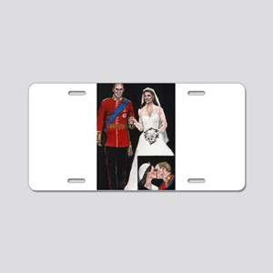 The Royal Couple Aluminum License Plate