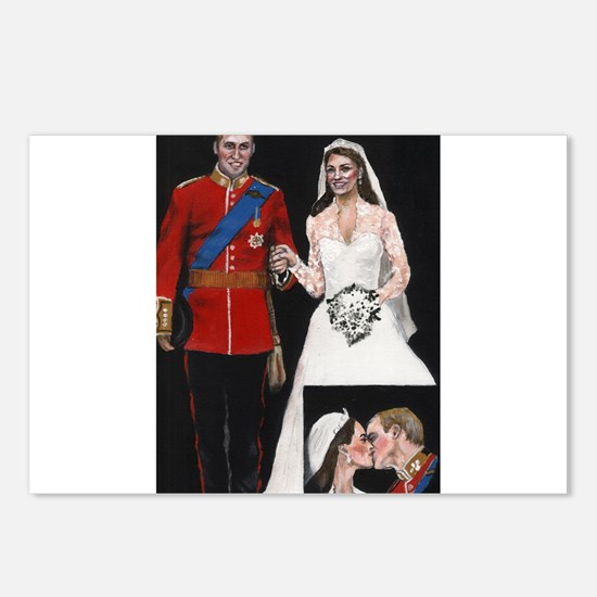 The Royal Couple Postcards (Package of 8)