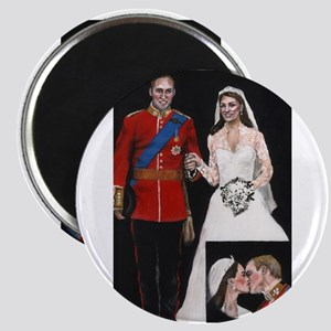 The Royal Couple Magnet