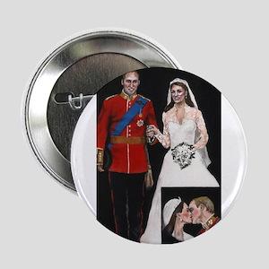 """The Royal Couple 2.25"""" Button"""