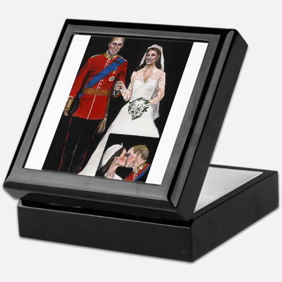 The Royal Couple Keepsake Box