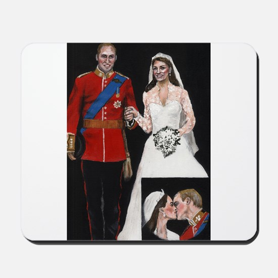 The Royal Couple Mousepad