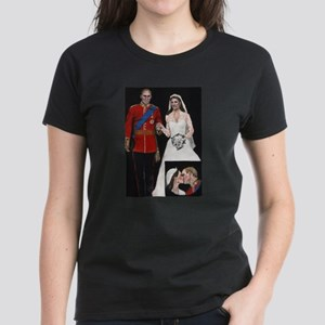 The Royal Couple Women's Dark T-Shirt