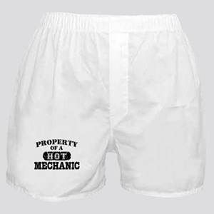 Property of a Hot Mechanic Boxer Shorts