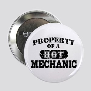 """Property of a Hot Mechanic 2.25"""" Button"""