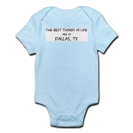 Best Things in Life: Dallas Infant Creeper
