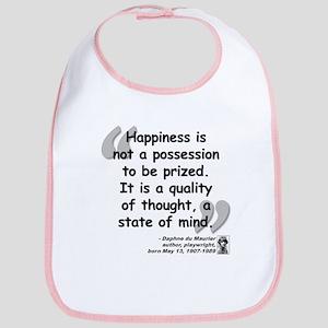 Du Maruier Happiness Bib
