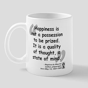 Du Maruier Happiness Mug