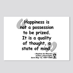 Du Maruier Happiness Postcards (Package of 8)