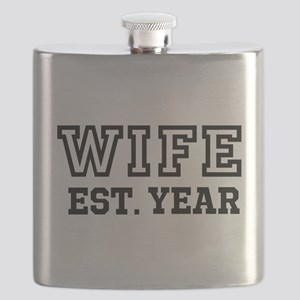 Wife Established Year Personalize It! Flask