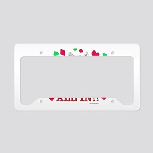 DOGS PLAYING POKER! License Plate Holder