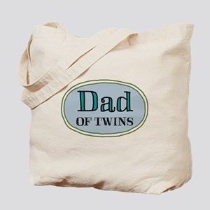 Dad OF TWINS Tote Bag