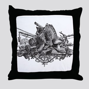 Medieval Armor Throw Pillow
