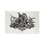 Medieval Armor Rectangle Magnet (100 pack)
