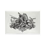 Medieval Armor Rectangle Magnet (10 pack)