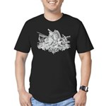 Medieval Armor Men's Fitted T-Shirt (dark)