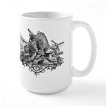 Medieval Armor Large Mug