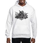 Medieval Armor Hooded Sweatshirt