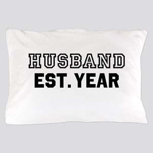 Husband Established Year Personalize It! Pillow Ca