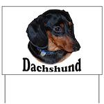 Dachshund Yard Sign