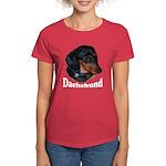 Dachshund Women's Dark T-Shirt