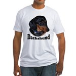 Dachshund Fitted T-Shirt