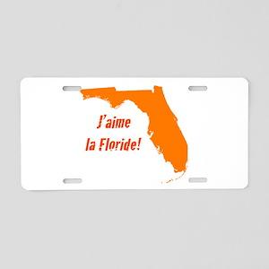 Florida-Vacation Aluminum License Plate
