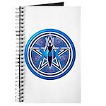 Blue-Silver Goddess Pentacle Journal