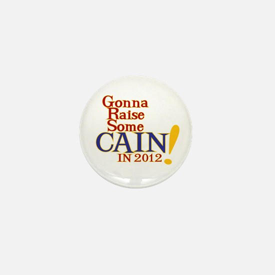 Raising Some Cain Mini Button