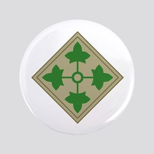 """4th Infantry 3.5"""" Button"""