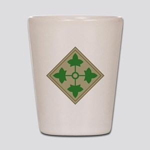 4th Infantry Shot Glass
