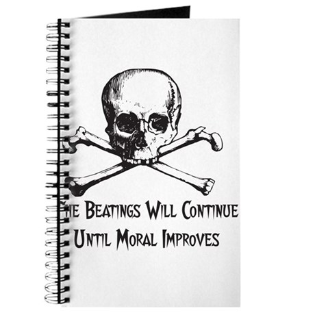 The Beatings Will Continue Journal