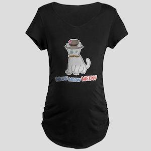 Meow Maternity Dark T-Shirt