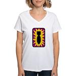 52nd EOD Group Women's V-Neck T-Shirt