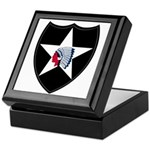 2nd Infantry Keepsake Box